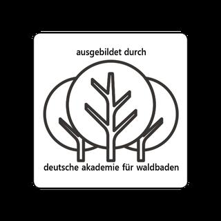 Ausgebildet durch Akademie Waldbaden